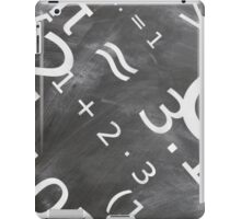 La bosse des maths - C halkboard Mathematic Board  iPad Case/Skin