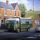 Morrison dustcart. by Mike Jeffries