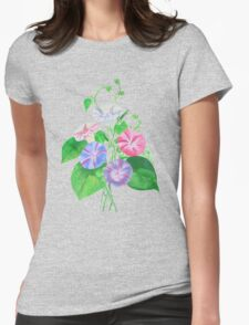 Morning Glory Isolated On White T-Shirt