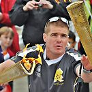 olympic torch by Mike Higgins