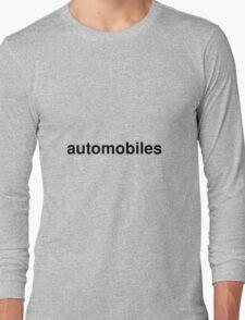automobiles Long Sleeve T-Shirt