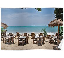 Sun, sea, beach.....  Poster
