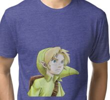 The Legend of Zelda - Link kid Tribute Tri-blend T-Shirt