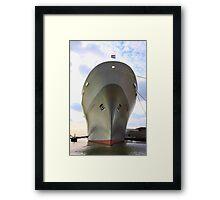 SS Rotterdam Framed Print