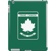 Nova Scotia, Trans-Canada Highway Sign iPad Case/Skin