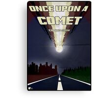 Once upon a comet Canvas Print