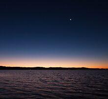 Lake Macquarie sunset by LeahK