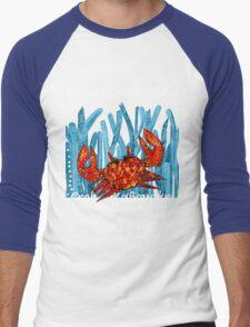 MEDITERRANEAN CRAB Men's Baseball ¾ T-Shirt