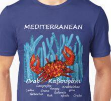 MEDITERRANEAN CRAB Unisex T-Shirt
