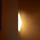 Winter sun rising (in the hallway.) by geof