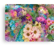 A Parcel of Posies for You! Canvas Print
