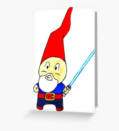 May the Gnomes be With You Greeting Card