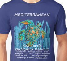 MEDITERRANEAN SEA-TURTLE Unisex T-Shirt