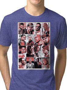 The Barksdale Crew - The Wire Tri-blend T-Shirt
