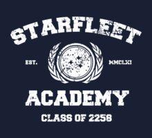 Starfleet Acadmey Class of 2258 - WHT by simonbreeze