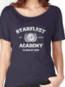 Starfleet Acadmey Class of 2258 - WHT Women's Relaxed Fit T-Shirt