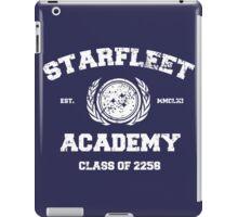 Starfleet Acadmey Class of 2258 - WHT iPad Case/Skin