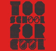 Too School For Cool (Gray) Kids Clothes