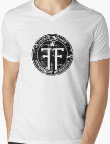 Fringe Division (dark print and stickers) Mens V-Neck T-Shirt