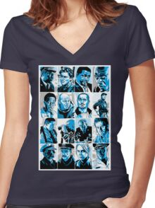 The Law - The Wire Women's Fitted V-Neck T-Shirt