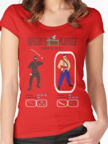 Dragon's Plunder Character Select Women's Fitted Scoop T-Shirt