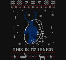 ugly christmas sweater - wendigo #2 Long Sleeve T-Shirt