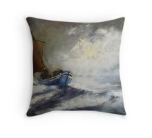 Last Catch of The Day Throw Pillow