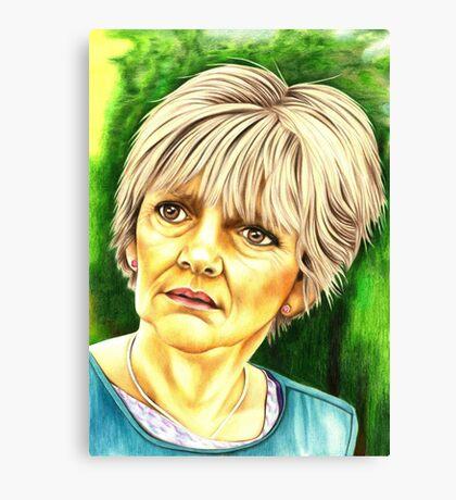 Jean Slater - Eastenders Canvas Print
