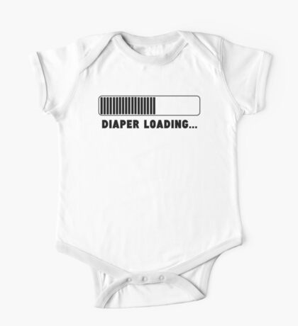 Diaper Loading One Piece - Short Sleeve