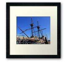 Mayflower sailing ship photography Framed Print