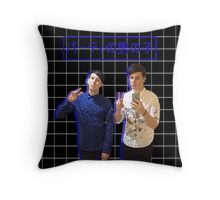 Dan and Phil - Party Boys Throw Pillow