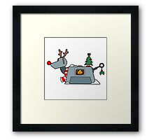 Holiday Analysis Complete Framed Print