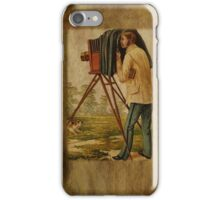 Vintage Photographers iPhone Case iPhone Case/Skin