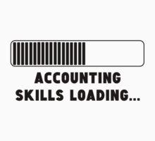 Accounting Skills Loading Kids Tee