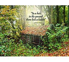 Hobbit Home Photographic Print