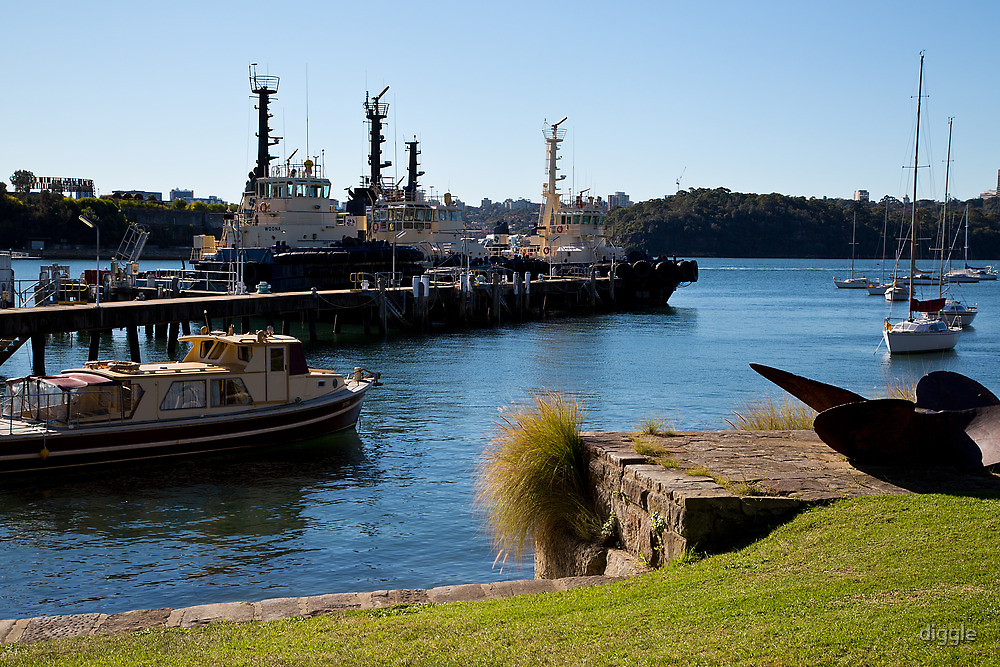 Propeller Park Tugs by diggle