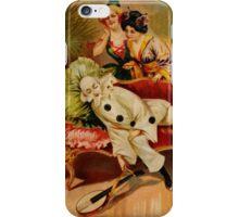 Vintage Harlekin iPhone Case iPhone Case/Skin