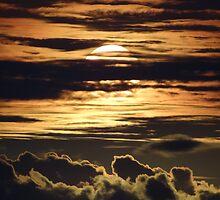 Pastel-Colored Sunset II - Puesta Del Sol De Colores Pastel by Bernhard Matejka