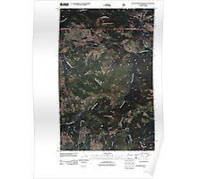 USGS Topo Map Washington State WA Seventeenmile Mountain 20110505 TM Poster