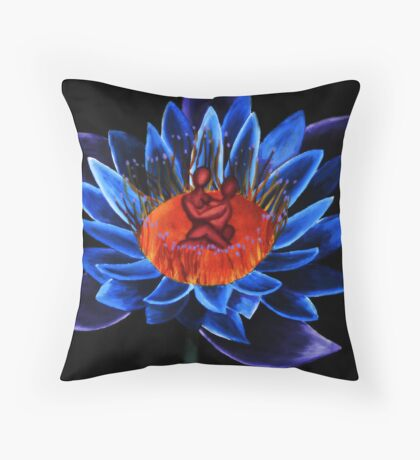 Lotus in Tranquility Throw Pillow