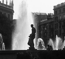 Fountain I by Andy S Bailey