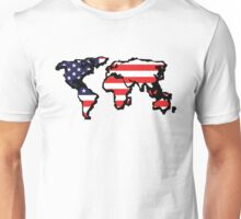 The New Empire (USA world map) Unisex T-Shirt
