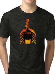 My Guitar Gently Weeps Tri-blend T-Shirt