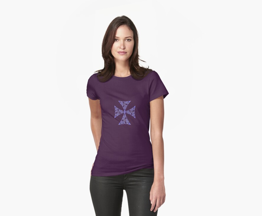 Lindisfarne St Johns Knot - Lilac by taiche