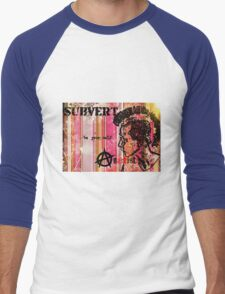 Subvert retro Men's Baseball ¾ T-Shirt