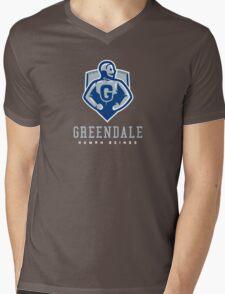 Greendale Human Beings Mens V-Neck T-Shirt