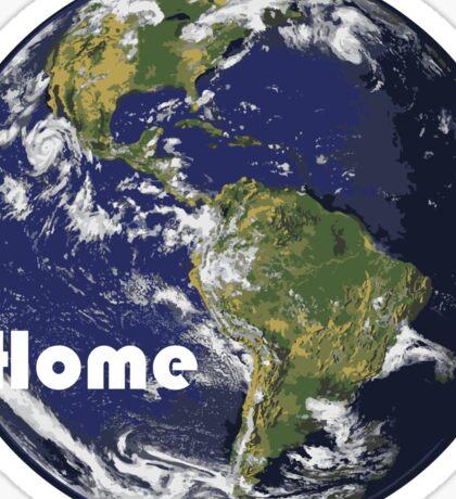 Earth - Home Sticker