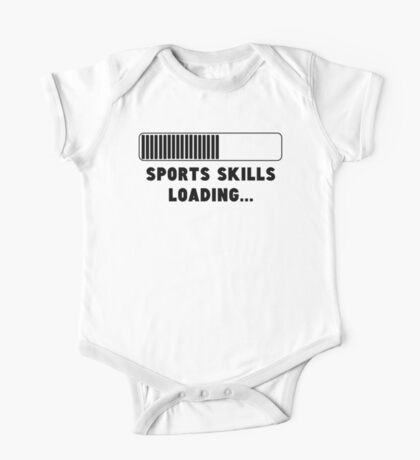 Sports Skills Loading One Piece - Short Sleeve
