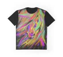 Horse Rainbow Hair Graphic T-Shirt