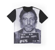 Mugshot Collection - Dennis Hopper Graphic T-Shirt